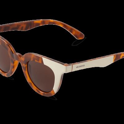 HAYES | CREAM/LEO TORTOISE with classical lenses