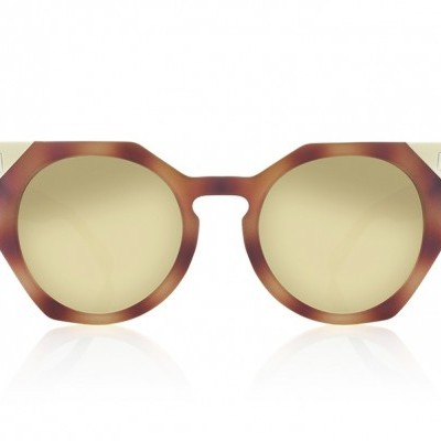 VENUS | RUBBER BUTTERFLY WITH GREEN GRADIENT LENSES