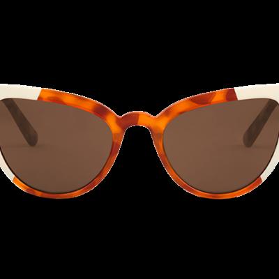 VESTERBRO    CREAM/LEO TORTOISE with classical lenses