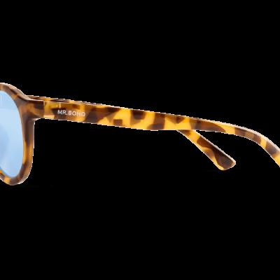 JORDAAN | HC TORTOISE with sky blue lenses