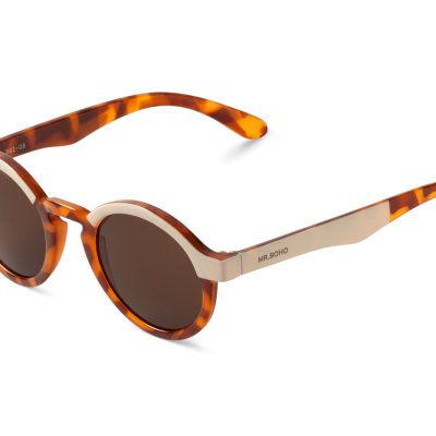 DALSTON | CREAM/LEO TORTOISE with classical lenses