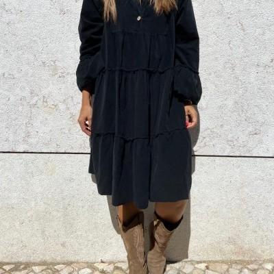 Vestido Bombazine | Creme