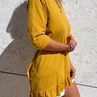 Top Comprido Fall Collection | Mostarda