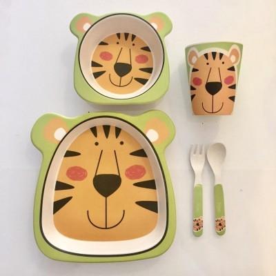 Conjunto Bamboo (5 peças) | Tigre