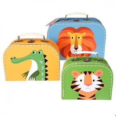 Conjunto 3 Caixas | Panda,Gato e Coelho