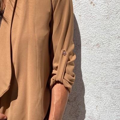 Casaco Tipo Blazer | Camel