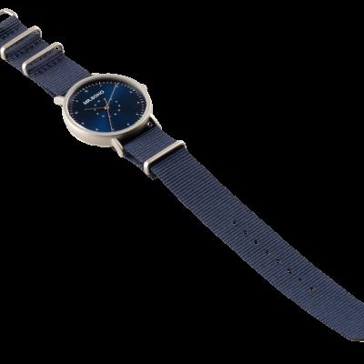 CASUAL METALLIC   IRON BLUE