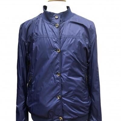 Blusão em Camurça Azul Reversível