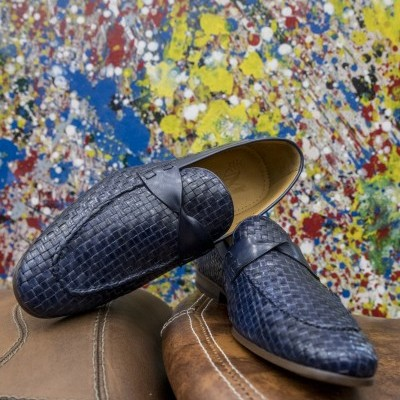 Blue Party Loafer