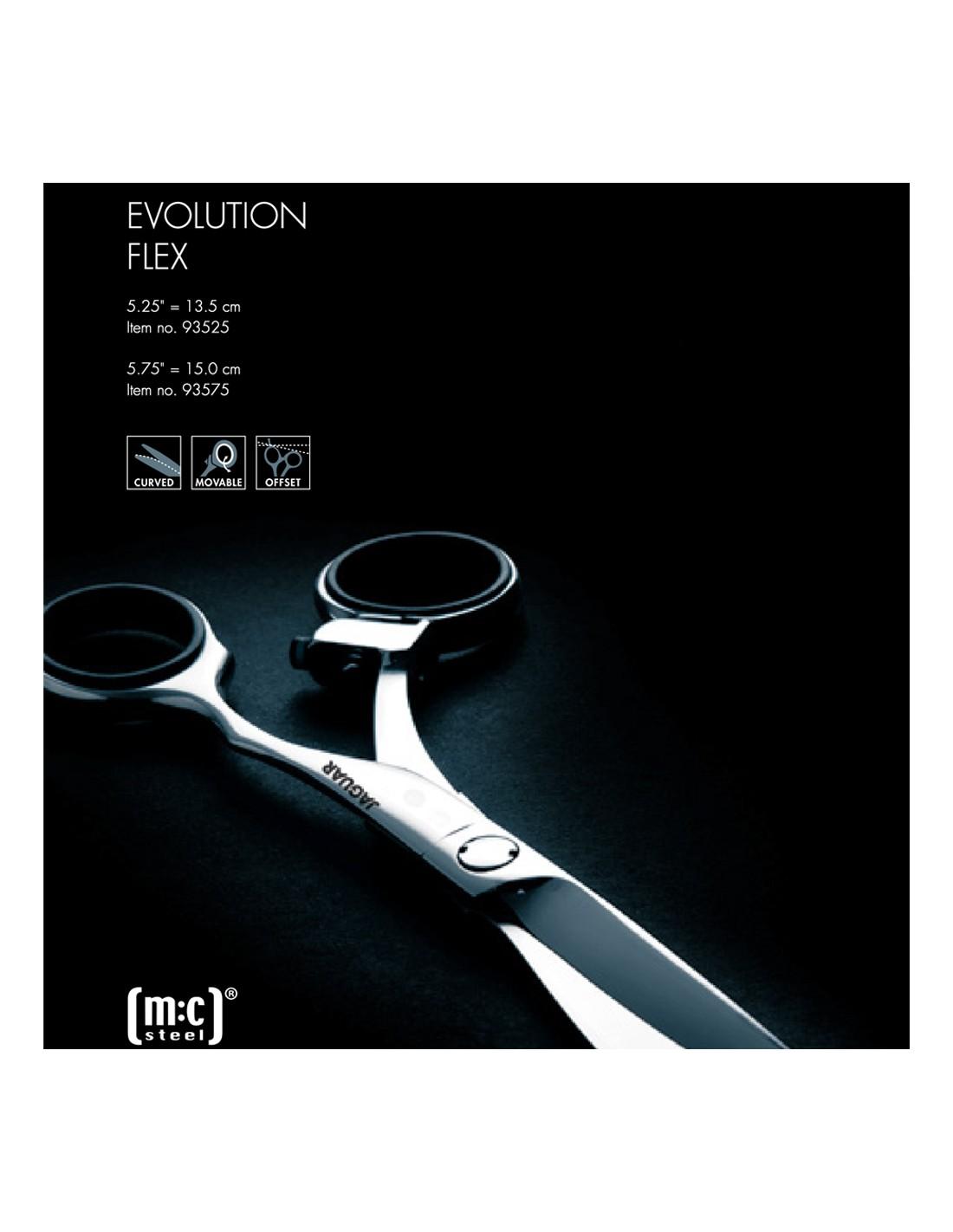 "TESOURA  EVOLUTION FLEX 5,25 "" - JAGUAR"
