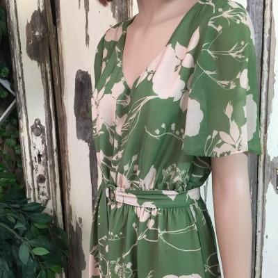Vestido  Green Leaf