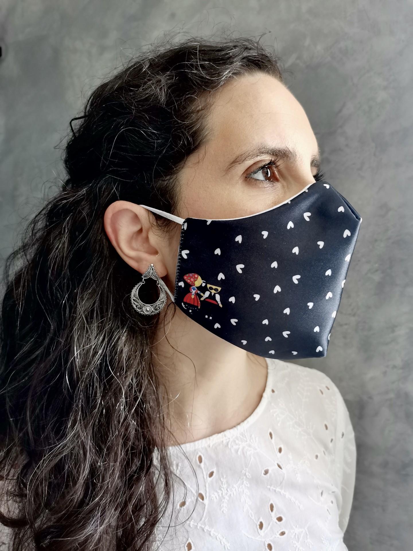 Máscara Minhotos PREMIUM COLLECTION Certificado CITEVE
