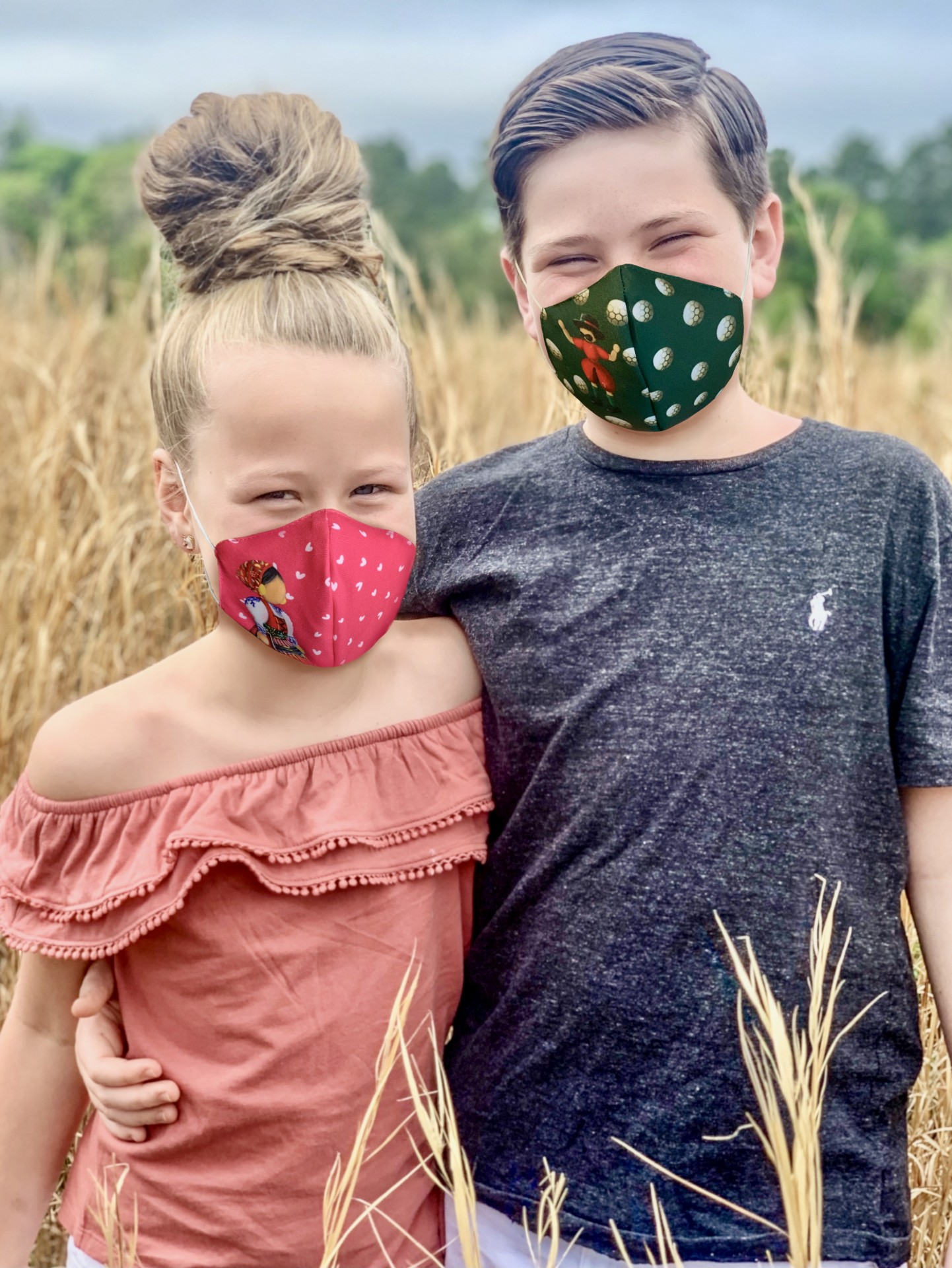 Máscaras Minhotos Criança Certificadas Nível 2 - 100 lavagens