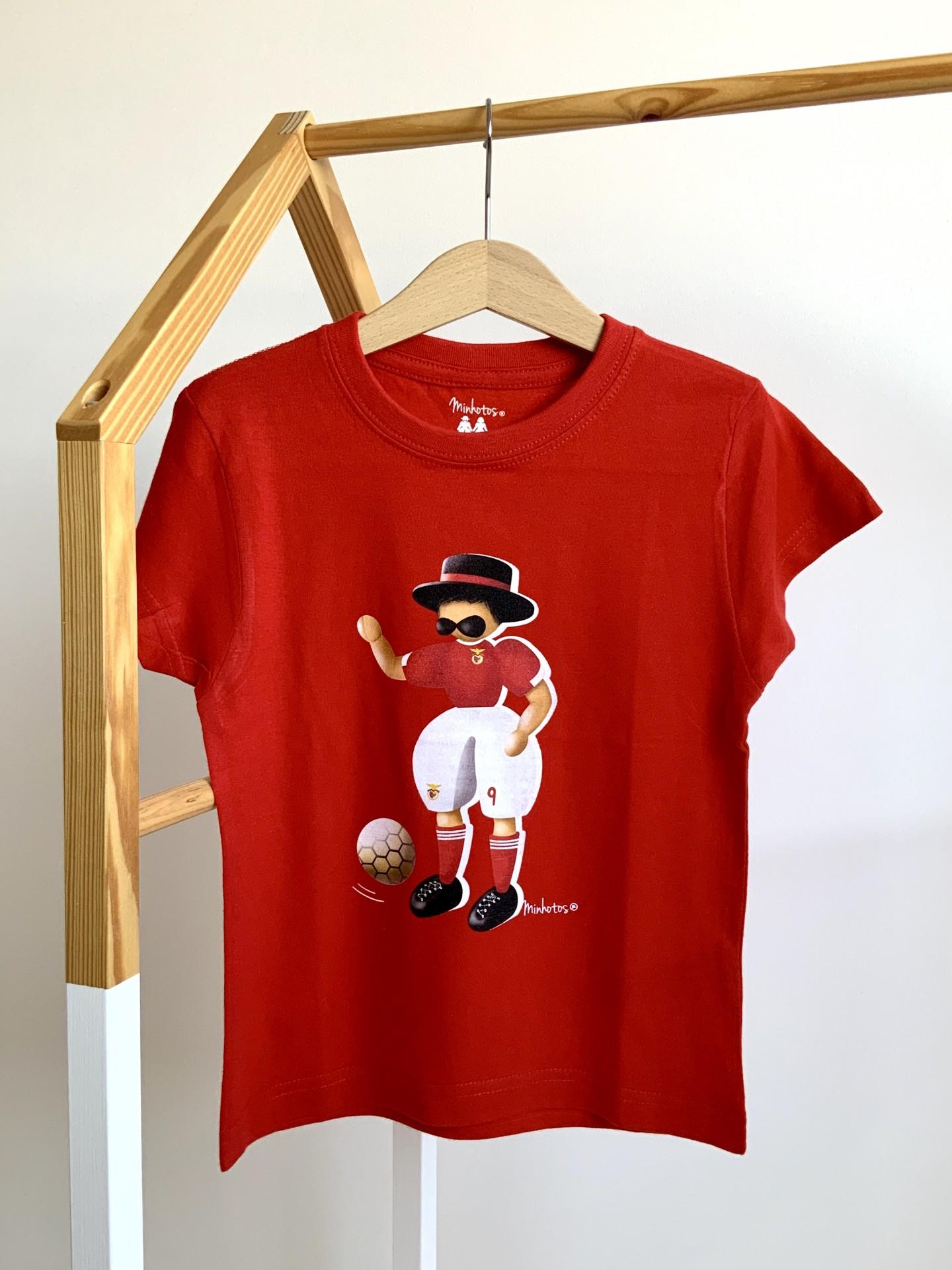 Tshirt Minhoto Futebolista