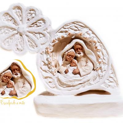 Presépio Coração de Viana Artesanal