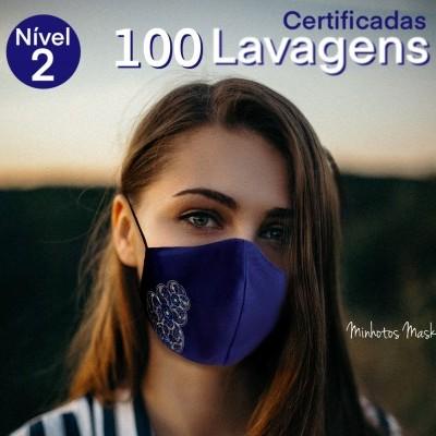 Máscara Minhotos Certificadas Nível 2 - 50/100 lavagens