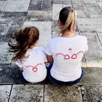 Tshirt Bordado de Viana Mulher/Menina