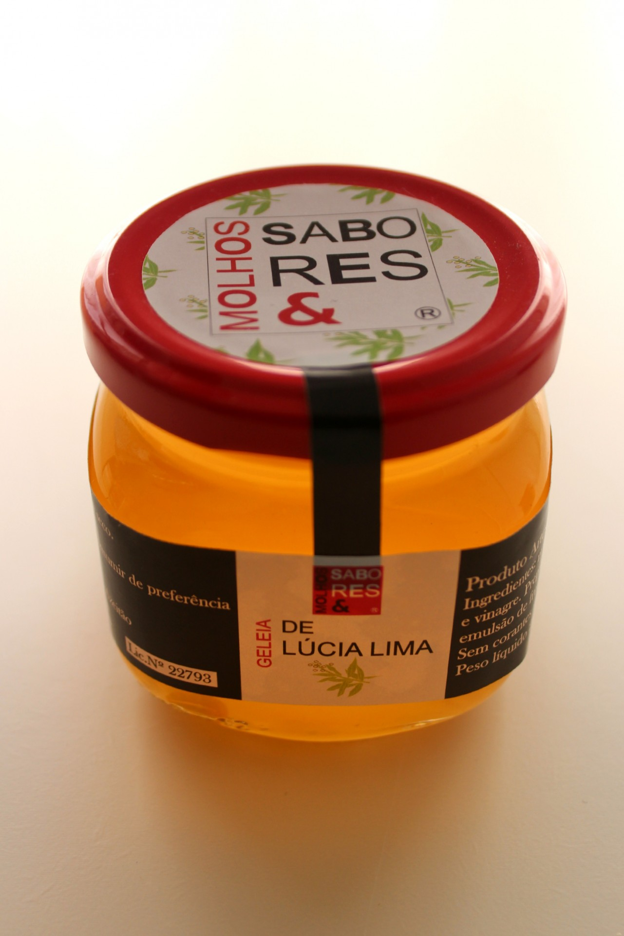 Geleia de Lúcia-Lima