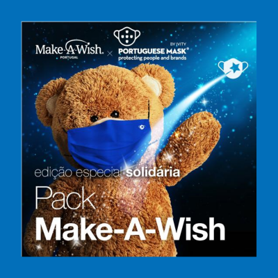 Máscara Make-A-Wish by Portuguese Mask