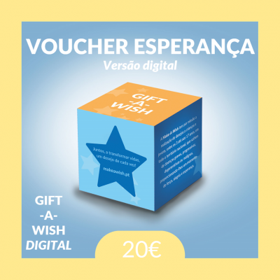 GIFT-A-WISH: Voucher Esperança | Digital