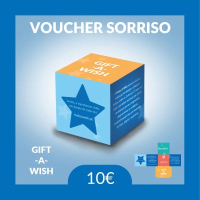 Gift-A-Wish: Voucher Sorriso | Físico