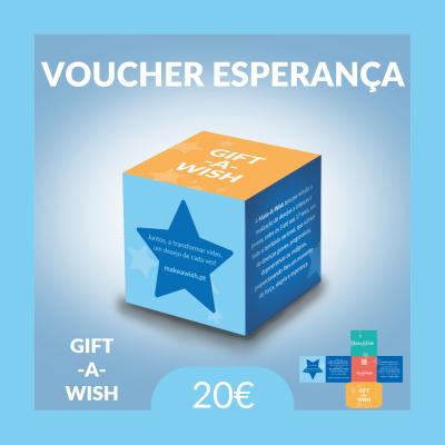 Gift-A-Wish: Voucher Esperança | Físico