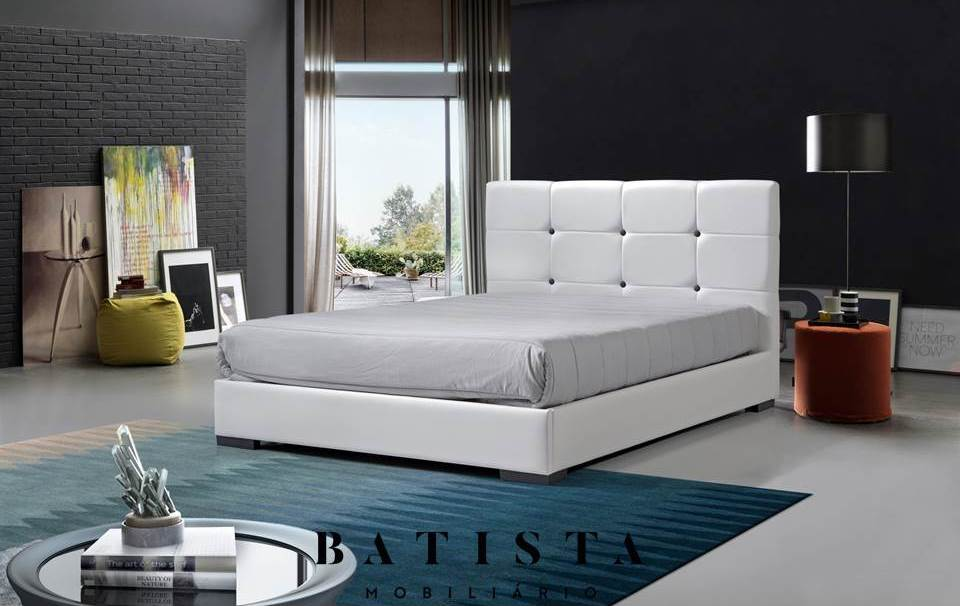 Cama Estofada Button