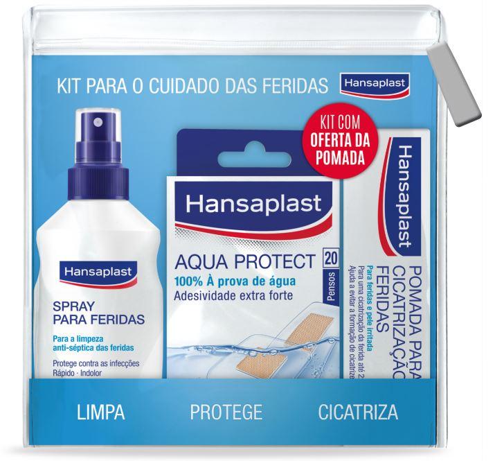 HANSAPLAST Kit para o cuidado das feridas