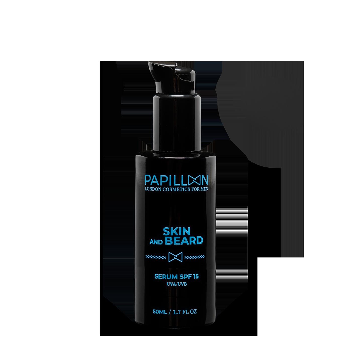 PAPILLON SERUM SKIN AND BEARD SPF 15