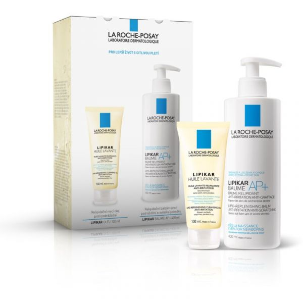LA ROCHE-POSAY LIPIKAR PACK 48H LEITE CORPORAL 400ML + CLEANSING OIL 100ML