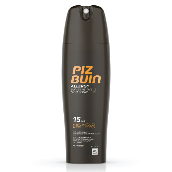 PIZ BUIN ALLERGY Spray Pele Sensível ao Sol FPS 15 | 200ml