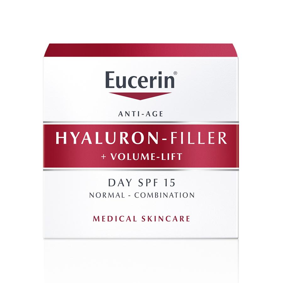 EUCERIN Hyaluron-Filler + Volume-Lift Dia Pele Normal a Mista | 50ml
