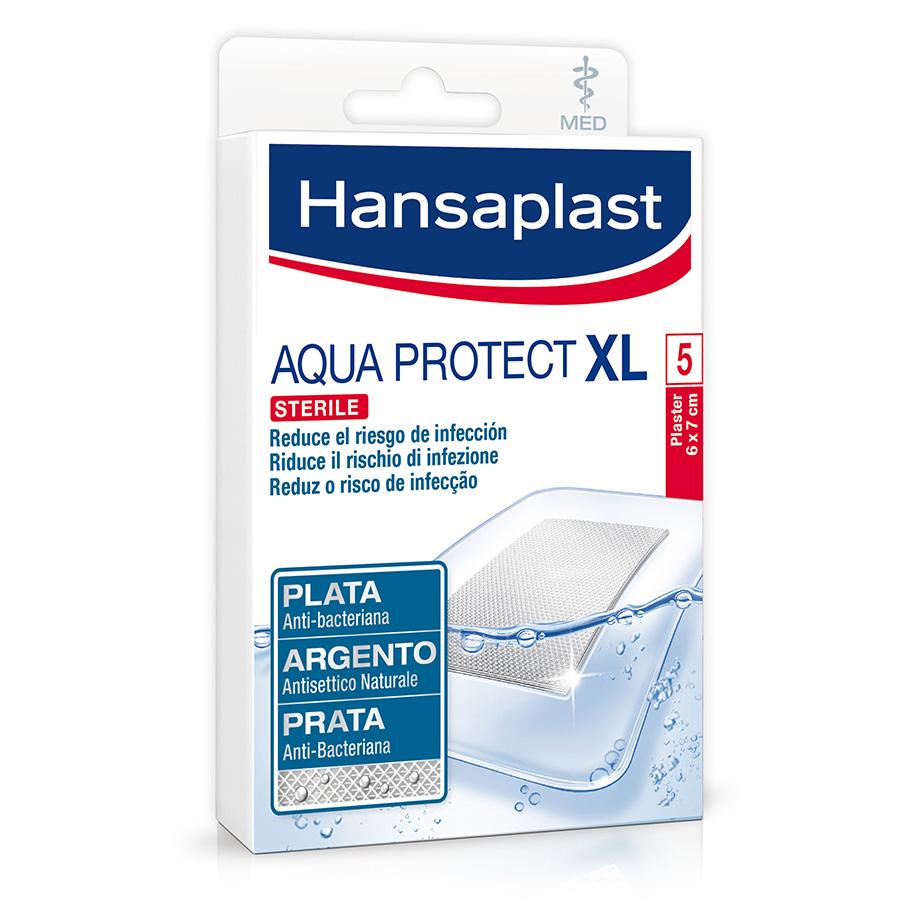 HANSAPLAST Aqua Protect Penso Anti-Bacteriano XL | 5P de 6cm x 7cm