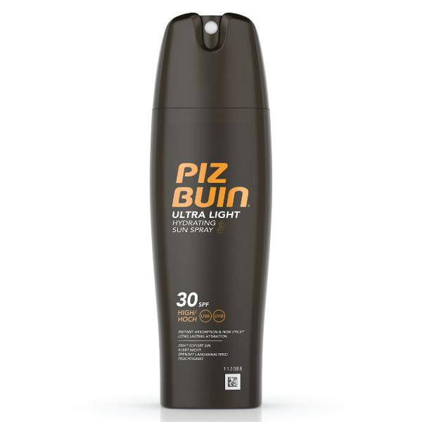 PIZ BUIN ULTRA LIGHT Spray Solar Hidratante FPS 30   200ml