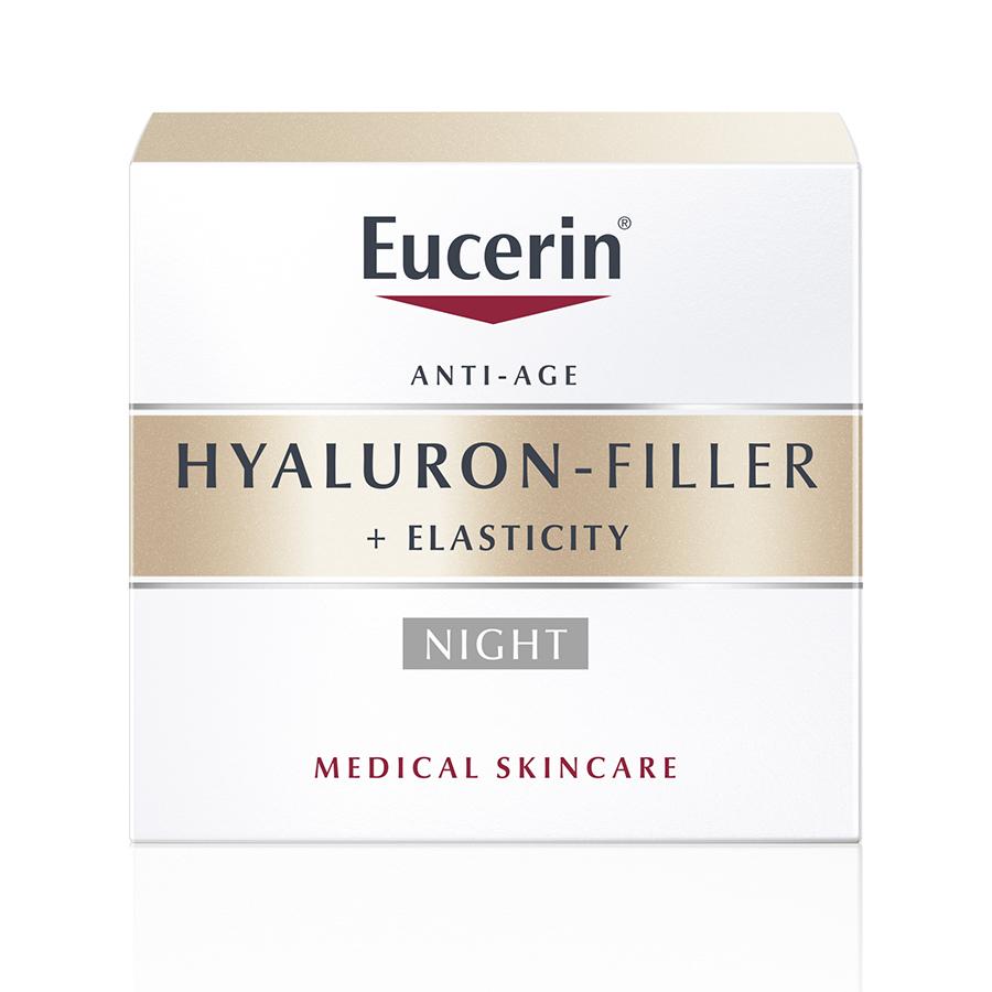 EUCERIN Hyaluron-Filler + Elasticity Noite | 50ml