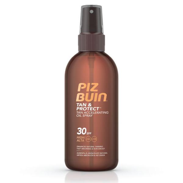 PIZ BUIN TAN & PROTECT Óleo Spray Acelerador de Bronzeado FPS 30 | 150ml