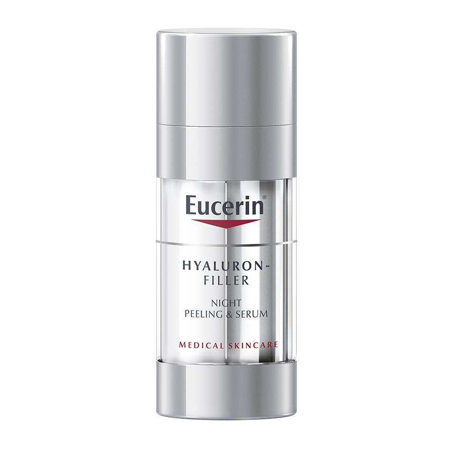 EUCERIN Hyaluron-Filler Peeling & Sérum Noite | 30ml