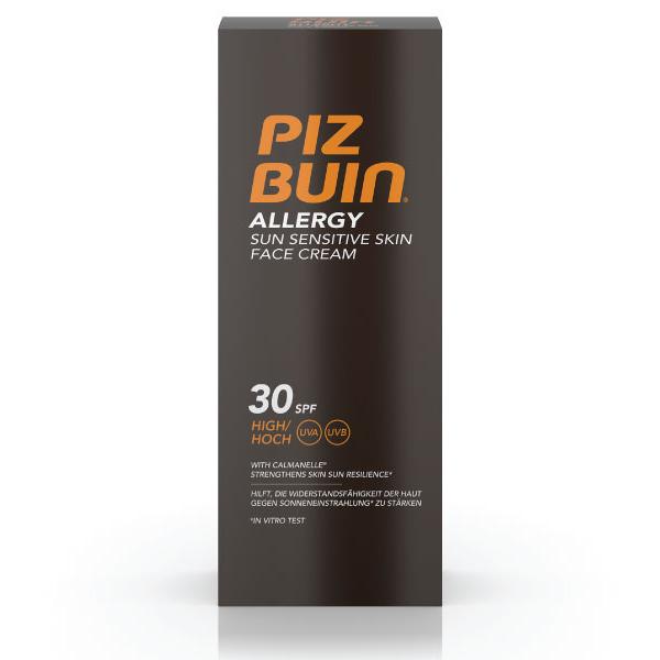 PIZ BUIN ALLERGY Creme Facial Pele Sensível ao Sol FPS 30 | 50ml