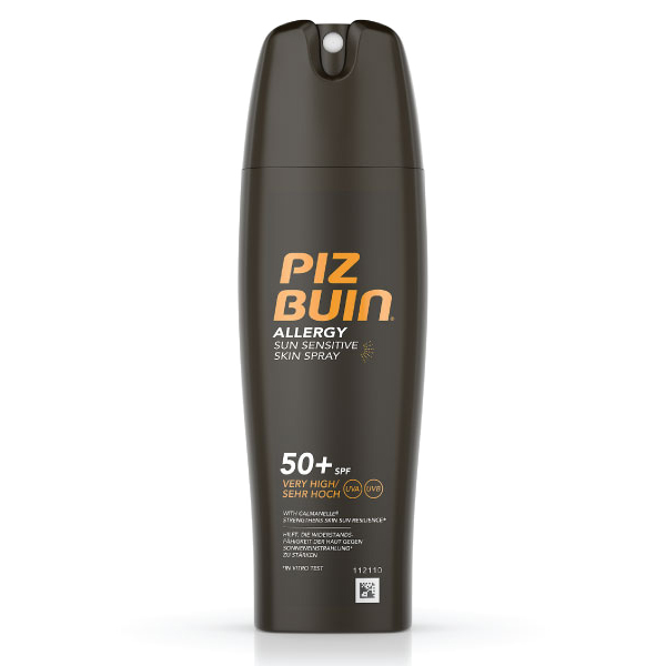 PIZ BUIN ALLERGY Spray Pele Sensível ao Sol FPS 50+ | 200ml