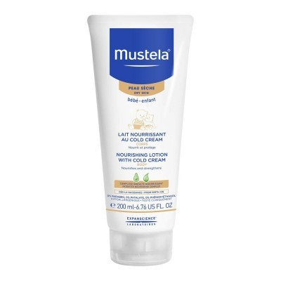 MUSTELA LEITE NUTRITIVO COM COLD CREAM 200ml