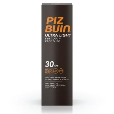 PIZ BUIN ULTRA LIGHT Fluido Facial Toque Seco FPS 30 | 50ml