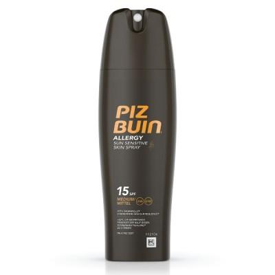PIZ BUIN ALLERGY Spray Pele Sensível ao Sol FPS 15 | 200ml