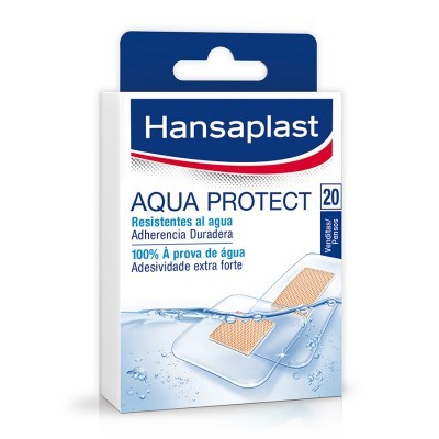 HANSAPLAST Aqua Protect Anti-bacteriano | 20P