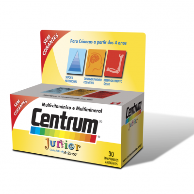 CENTRUM JUNIOR 30 COMPRIMIDOS
