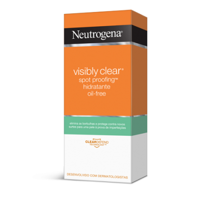 NEUTROGENA VISIBLY CLEAR CREME SPOT PROOFING OIL FREE 50ml
