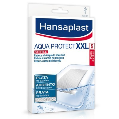HANSAPLAST Aqua Protect Penso Anti-Bacteriano XXL | 5P de 8cm x 10cm