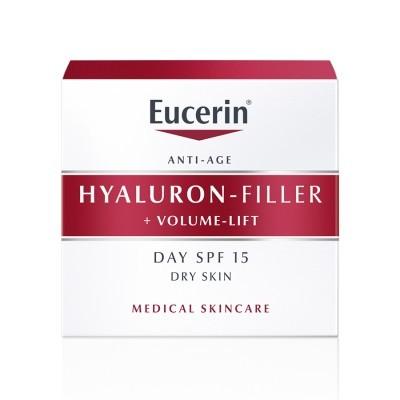 EUCERIN Hyaluron-Filler + Volume-Lift Dia Pele Seca | 50ml