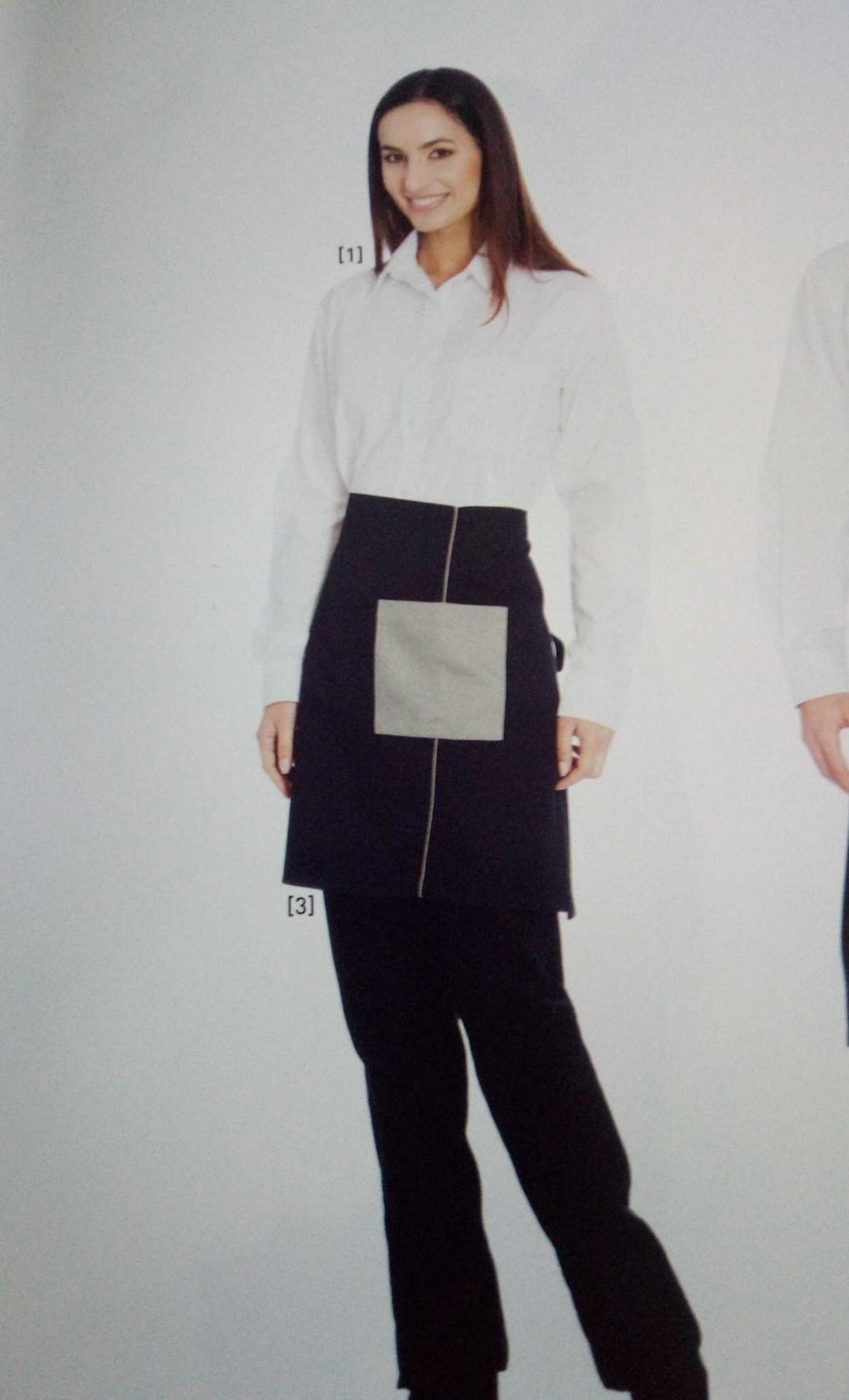 Avental cintura em sarja FVC 65% Poliester 35% Algodão