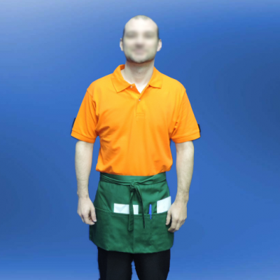 Avental Sarja 190g  65% Poliester 35% Algodão