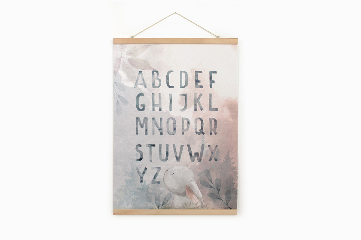 Land of letters print